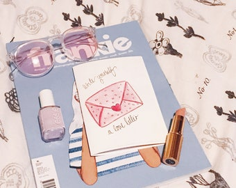 Write Yourself A Love Letter Zine