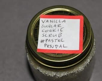 Vanilla Sugar Cookie Scrub