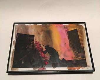 Watercolor 21 on Postcard