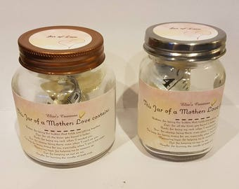 Love Jars for Mothers, perfect for Mothers Day