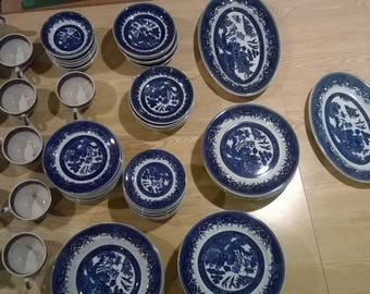 Shenango Blue Willow China