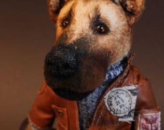 Mr Shepherd teddy bear friend OOAK vintage teddy bear style