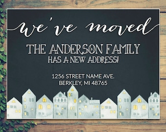 "Moving Announcement - ""We've Moved!"""