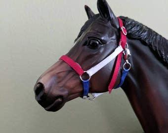 Model horse halter