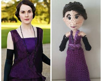 "crAFty Characters: Downton Abbey Inspired ""Lady Mary"" doll"