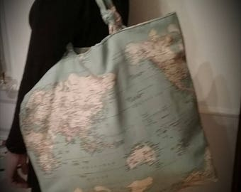 Big bag for the beach / original Big beach bag