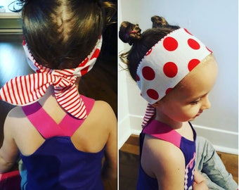 Reversible headbands combining style and originality