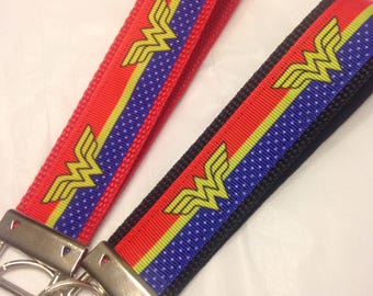 Wonder Woman Keychain Wrislet