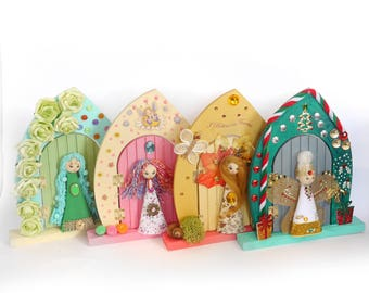 Seasons fairy doors