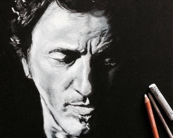 Bruce Springsteen - portrait