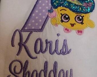 Shopkins Birthday Costumized
