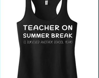Teacher on Summer Break