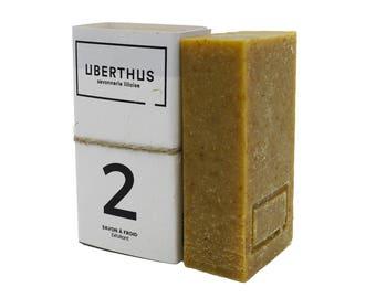 SOAP scrub - Zest of citrus & hemp