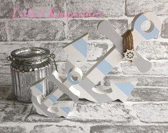 Wooden Anchor Set of 2