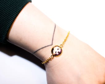 Bracelet with its own photo | Minimalist