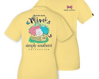 Simply Southern Sunrise Yellow Beyond Blessed Mimi Short Sleeve T-Shirt