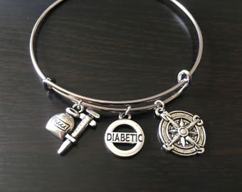 Diabetic awareness bracelet