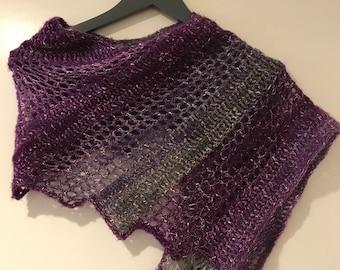 Lizard shawl