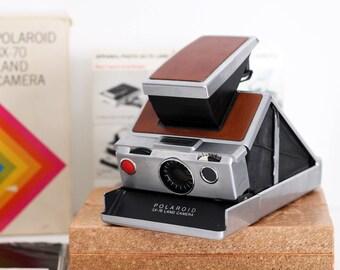 Collectible Piece: Polaroid SX-70 Original With Box, Manuel, Original Film Pack