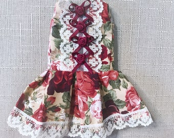 1/6 YoSD Roses and Ribbons Drop-Waist Dress