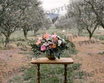 Floral bouquet in Olive Grove Image