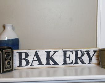Distressed Bakery Sign