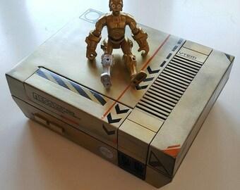 NES Nintendo console custom C-3PO design