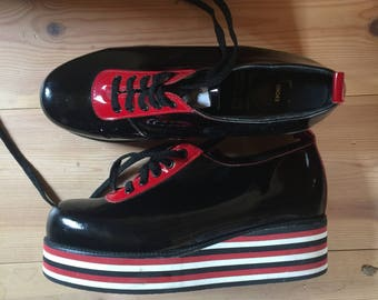 Underground Shoes Vintage MADE IN ENGLAND