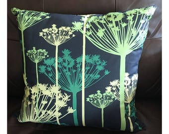 Queen Ann's Lace Throw Pillow