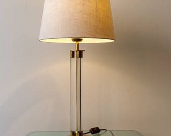 Great Hollywood regency table lamp, 70s