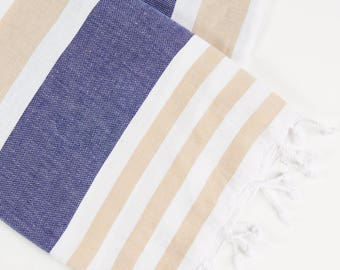 NAVY  - Premium, stylish Turkish Towel
