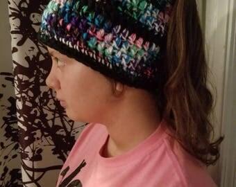 Crochet Messy Bun Hats Assortment Ready For Shipment