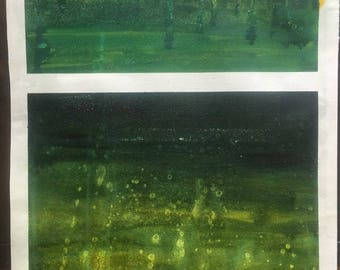 Abstract in Green
