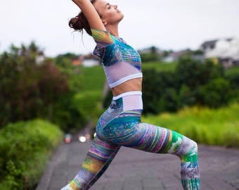 HARMONY collection Leggins & Top for Yoga and Fitness