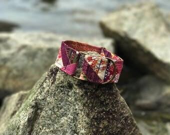 Adjustable Japanese Fabric Martingale Collar