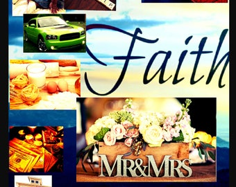 Love, Marriage Faith Vision Board