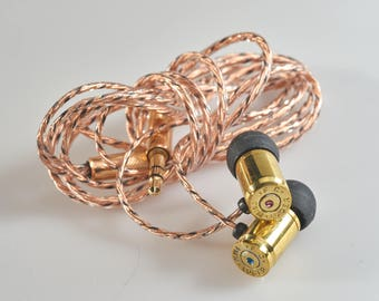 Handmade Bullet in-ear earphones