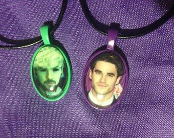 Jacksepticeye or Darren Criss pendants