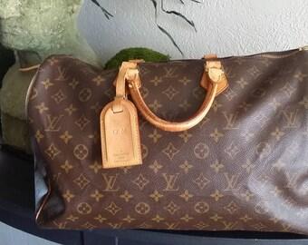 Louis Vuitton Monogram Speedy 40 Luggage Year 2000
