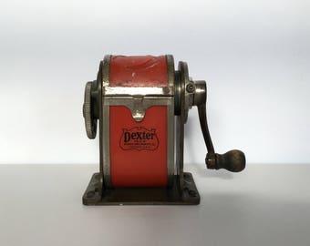 Vintage Dexter Desk Mount Pencil Sharpener