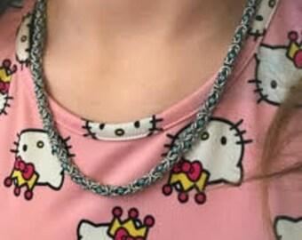 Byzantine necklace and bracelet