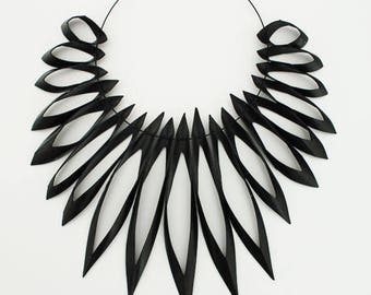Extrema - Statement Necklace Re-used Bicycle Inner-tube