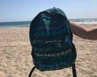 Sea blue backpack