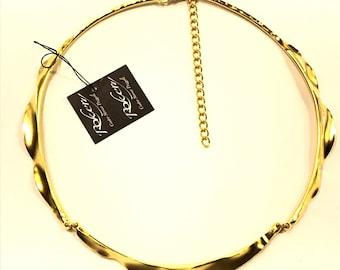 Brass Choker bagato 80000497 gold