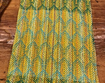 Handwoven Kitchen towel #173