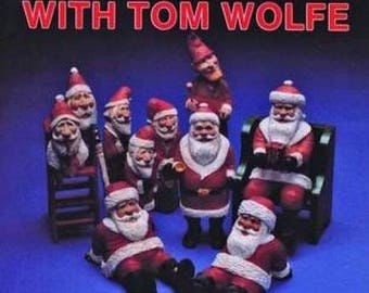 Traditional Santa Carving with Tom Wolfe Paperback Book