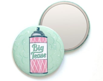 Big Tease Pocket Mirror