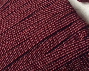 Deep Wine Vintage Trim middy-braid 15 yards,new old stock,marroon trim, vintage braid