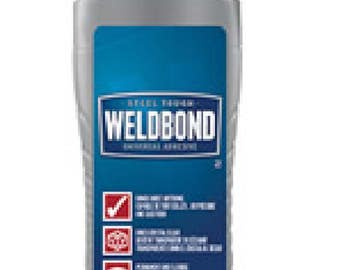 5.4 fl oz Weldbond Adhesive Glue - great for crafting, mosaic tile, decoupaging