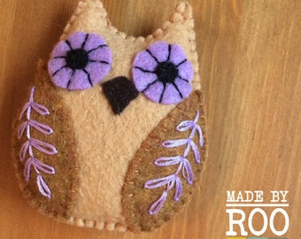 Woodland Babies Magnets - Owl